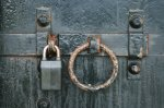 Door with lock